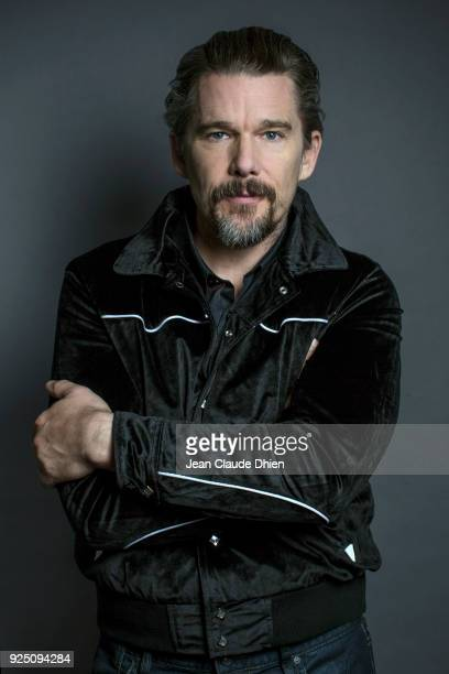 Actor Ethan Hawke is photographed for MovieMaker on December 13 2017 in New York City COVER IMAGE