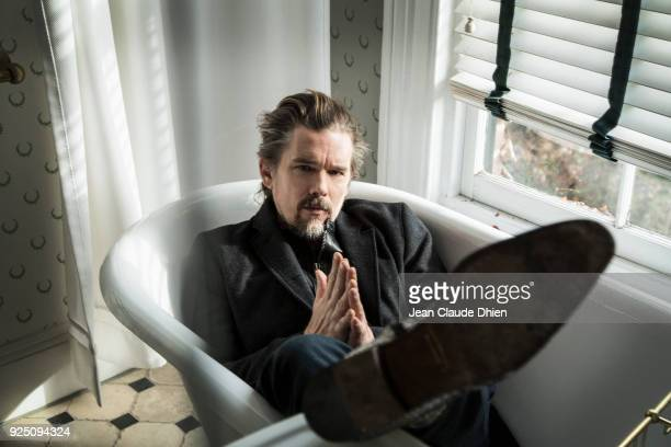 Actor Ethan Hawke is photographed for MovieMaker on December 13 2017 in New York City PUBLISHED IMAGE
