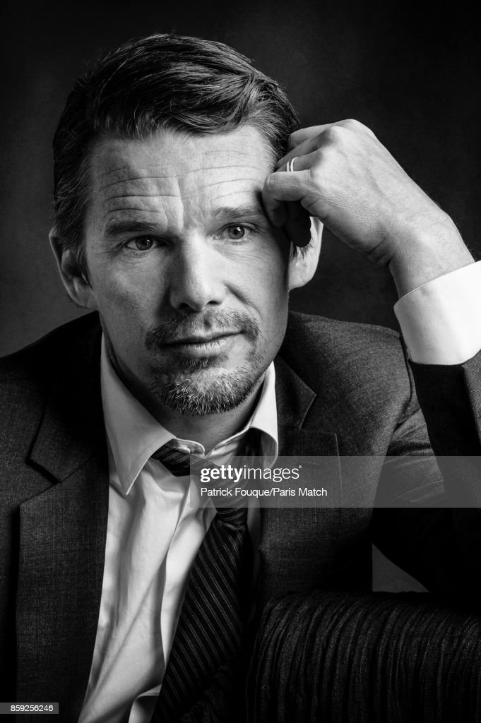 Actor Ethan Hawke is photographed for Paris Match on April 23, 2015 in Paris, France.