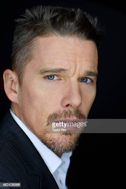 Actor Ethan Hawke is photographed for USA Today on January 6 2015 in New York City