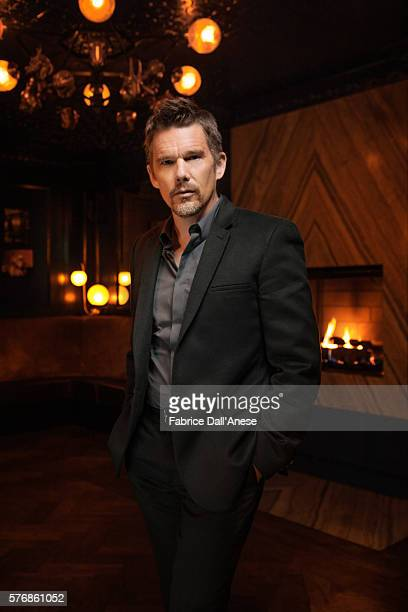 Actor Ethan Hawke is photographed for Vanity Faircom on April 19 2016 in New York City
