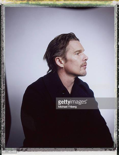 Actor Ethan Hawke is photographed for Variety on January 18 2014 in Park City Utah