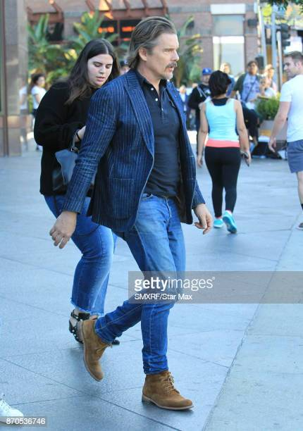 Actor Ethan Hawke is seen on November 4 2017 in Los Angeles CA