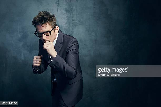 Actor Ethan Hawke poses for a portrait in the Getty Images SXSW Portrait Studio Powered By Samsung on March 13 2016 in Austin Texas