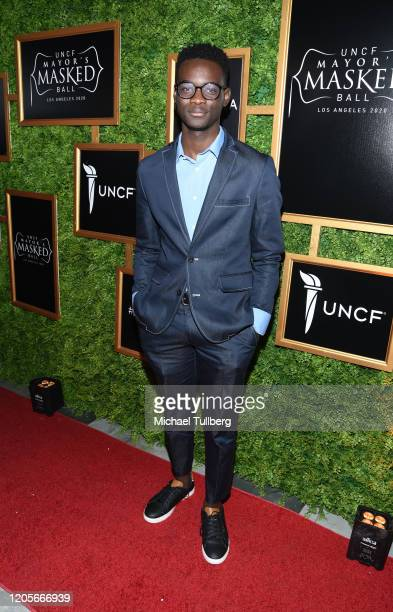 Actor Ethan Herisse attends 2020 UNCF Homecoming An HBCU Experience at Casita Hollywood on February 11 2020 in Los Angeles California
