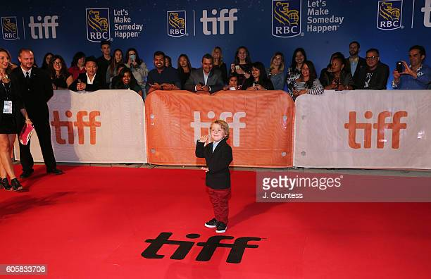 Actor Ethan MacIverWright attends the 2016 Toronto International Film Festival Premiere of 'The Headhunter's Calling' at Roy Thomson Hall on...