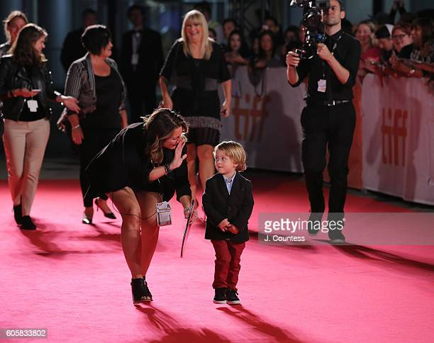 Actor Ethan MacIverWright walks the ed carpet at the 2016 Toronto International Film Festival Premiere of 'The Headhunter's Calling' at Roy Thomson...