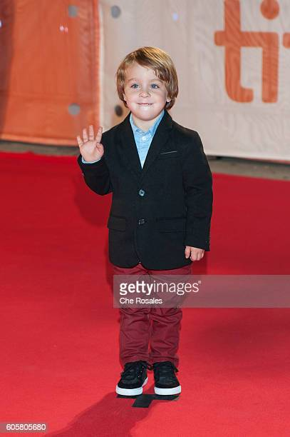 Actor Ethan McIverWright attends the premier of 'The Headhunter's Calling' at Roy Thomson Hall on September 14 2016 in Toronto Canada