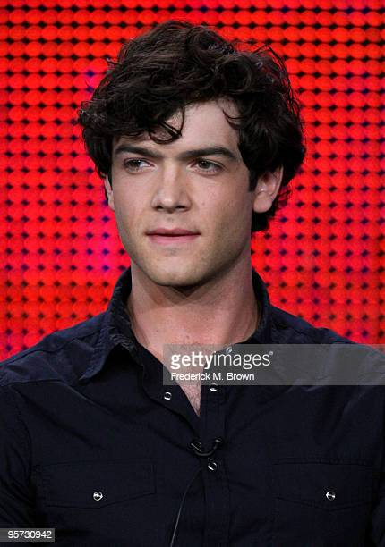 Actor Ethan Peck speaks onstage at the ABC '10 Things I Hate About You' QA portion of the 2010 Winter TCA Tour day 4 at the Langham Hotel on January...