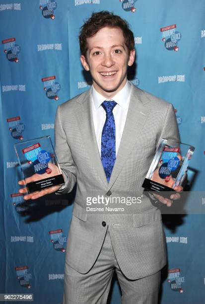 Actor Ethan Slater attends Broadwaycom Audience Choice Awards at 48 Lounge on May 24 2018 in New York City