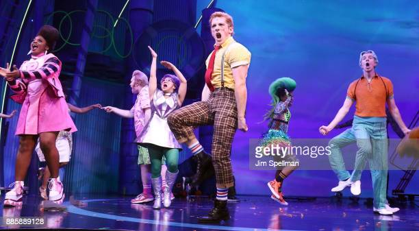 Actor Ethan Slater attends theSpongebob Squarepants Broadway opening night at Palace Theatre on December 4 2017 in New York City