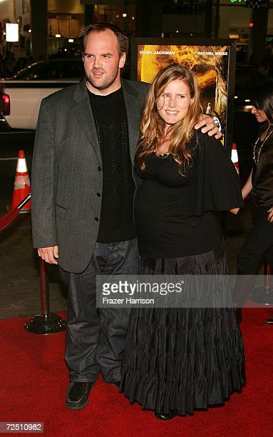 Actor Ethan Suplee and his wife Brandy arrive at the US Premiere and Centerpiece Gala of The Fountain during AFI FEST 2006 presented by Audi held at...