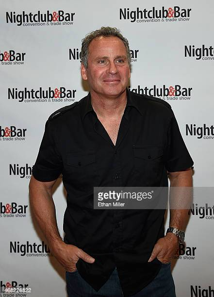 Actor Ethan Wayne attends the 30th annual Nightclub Bar Convention and Trade Show at the Las Vegas Convention Center on March 31 2015 in Las Vegas...