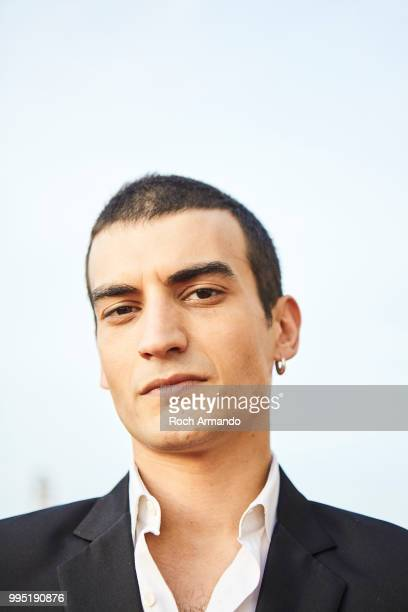 Actor Etienne Baret is photographed for Self Assignment on June 2018 in Cabourg France