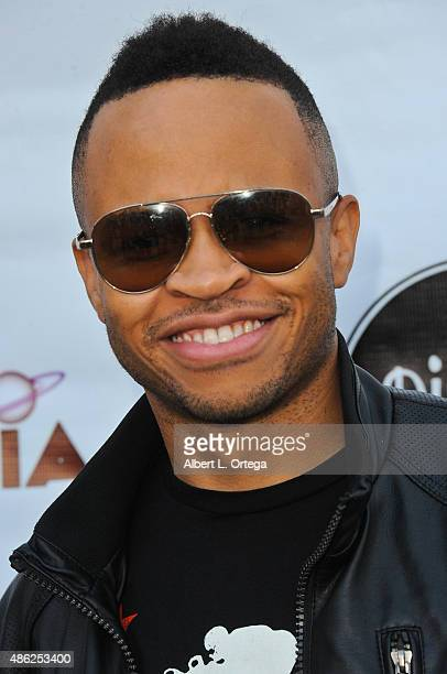 Actor Eugene Byrd arrives for the Etheria Film Night 2015 held at American Cinematheque's Egyptian Theatre on June 13, 2015 in Hollywood, California.
