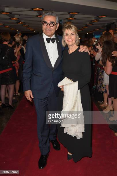 Actor Eugene Levy and Deborah Divine attend the Governor General's Awards 25th Anniversary Gala at National Arts Centre on June 29 2017 in Ottawa...