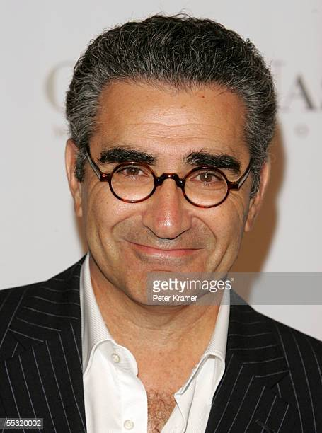 Actor Eugene Levy arrives at Fashion Rocks at Radio City Music Hall September 8 2005 in New York City