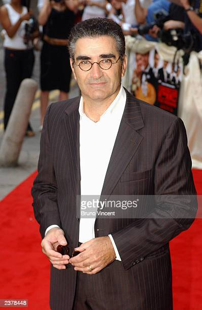 Actor Eugene Levy arrives at the UK premiere of 'American Wedding' the third installment in the 'American Pie' films August 7 2003 in London
