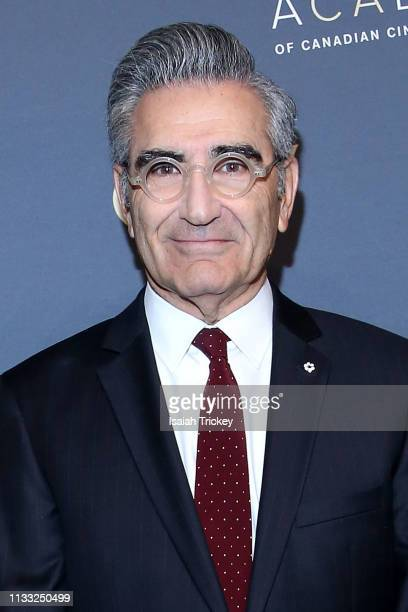 Actor Eugene Levy attends Canadian Screen Awards: The CTV Gala Honouring Excellence In Fiction Programming at Heritage Court, Exhibition Place on...