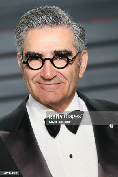 Actor Eugene Levy attends the 2017 Vanity Fair Oscar Party hosted by Graydon Carter at the Wallis Annenberg Center for the Performing Arts on...