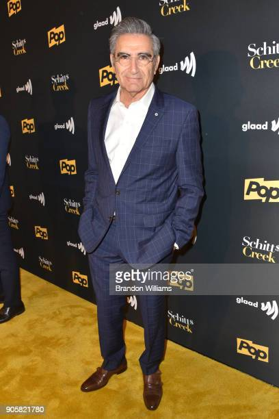 Actor Eugene Levy attends the premier of Pop TV's 'Schitt's Creek' season 4 at ArcLight Hollywood on January 16 2018 in Hollywood California