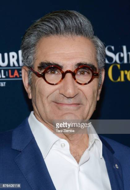 Actor Eugene Levy attends the 'Schitt's Creek' panel during Vulture Festival Los Angeles at Hollywood Roosevelt Hotel on November 19 2017 in...