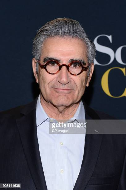Actor Eugene Levy attends the 'Schitt's Creek' Season 4 premiere at TIFF Bell Lightbox on January 9 2018 in Toronto Canada