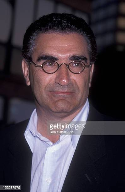 Actor Eugene Levy attends the world premiere of American Pie 2 on August 6 2001 at Mann National Theater in Westwood California