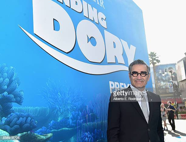 Actor Eugene Levy attends The World Premiere of DisneyPixar's FINDING DORY on Wednesday June 8 2016 in Hollywood California