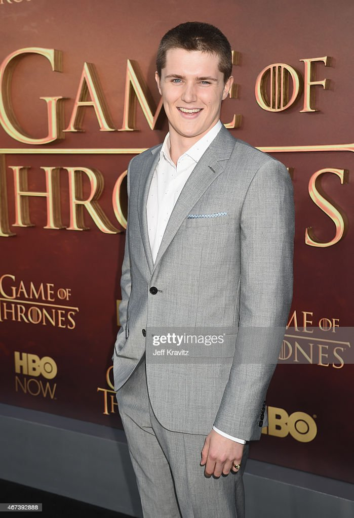 Actor Eugene Simon attends HBO's 'Game of Thrones' Season 5 Premiere and After Party at the San Francisco Opera House on March 23, 2015 in San Francisco, California.