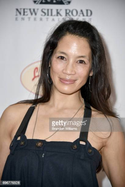 "Actor Eugenia Yuan attends the theatrical release of Indican Pictures' ""Jasmine"" at Laemmle Monica Film Center on June 16, 2017 in Santa Monica,..."