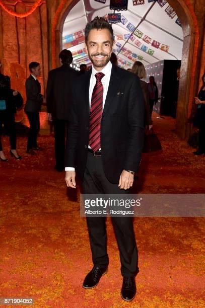 Actor Eugenio Derbez at the US Premiere of DisneyPixar's 'Coco' at the El Capitan Theatre on November 8 in Hollywood California