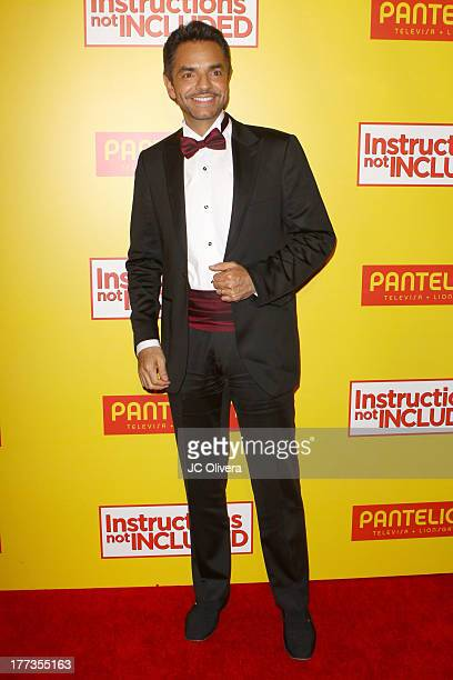 Actor Eugenio Derbez attends Los Angeles Premiere of Instructions Not Included at TCL Chinese Theatre on August 22 2013 in Hollywood California