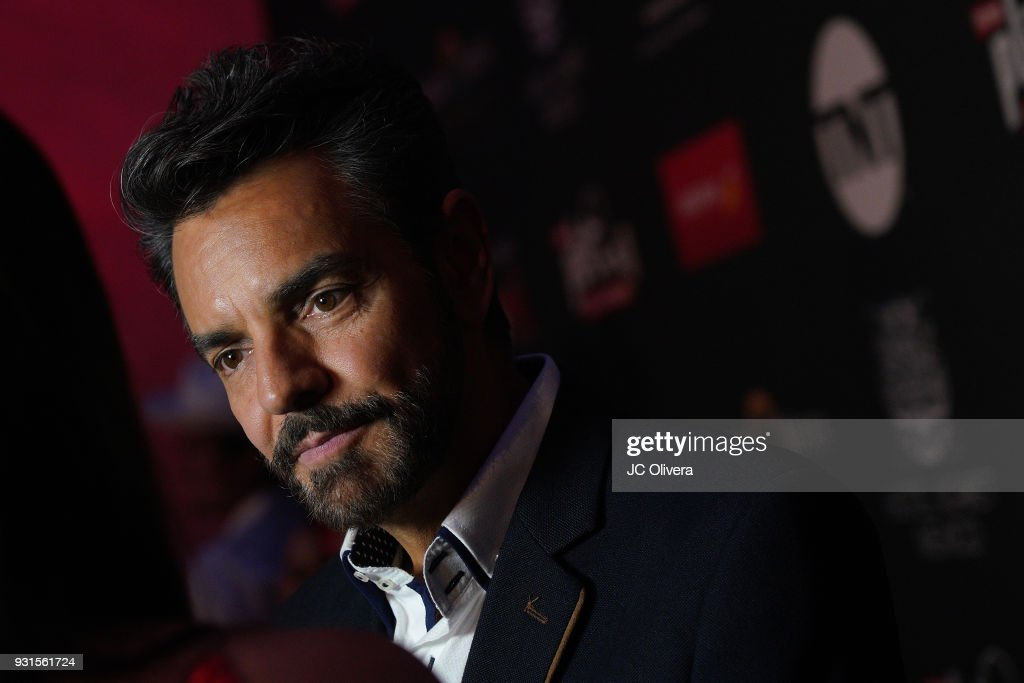 actor Eugenio Derbez attends the 5th Annual Premios PLATINO Of Iberoamerican Cinema Nominations Announcement at Hollywood Roosevelt Hotel on March 13, 2018 in Hollywood, California.