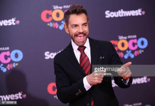Actor Eugenio Derbez attends the premiere of 'Coco' at El Capitan Theatre on November 8 2017 in Los Angeles California