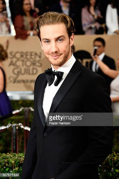 Actor Eugenio Siller attends the 22nd Annual Screen Actors Guild Awards at The Shrine Auditorium on January 30 2016 in Los Angeles California