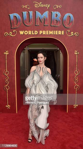 Actor Eva Green attends the World Premiere of Disney's Dumbo at the El Capitan Theatre on March 11 2019 in Los Angeles California