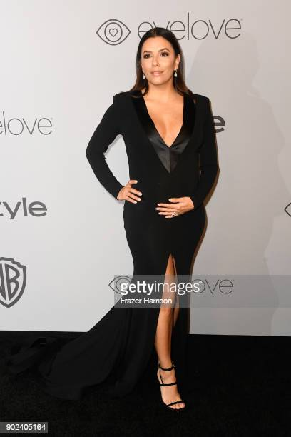 Actor Eva Longoria attends 19th Annual PostGolden Globes Party hosted by Warner Bros Pictures and InStyle at The Beverly Hilton Hotel on January 7...