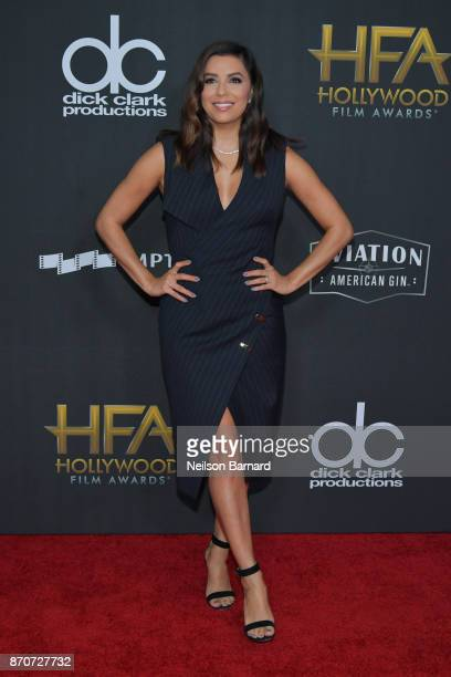 Actor Eva Longoria attends the 21st Annual Hollywood Film Awards at The Beverly Hilton Hotel on November 5 2017 in Beverly Hills California