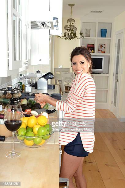 Actor Eva Longoria is photographed for Paris Match on April 12 2013 in Malibu California