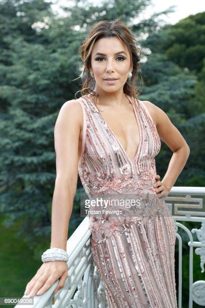 Actor Eva Longoria is photographed on May 25 2017 in Cannes France