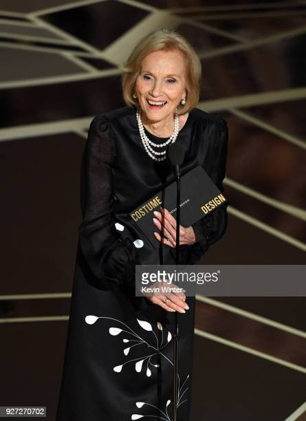 Actor Eva Marie Saint speaks onstage during the 90th Annual Academy Awards at the Dolby Theatre at Hollywood & Highland Center on March 4, 2018 in...