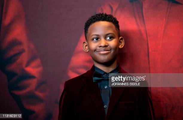 Actor Evan Alex arrives for the New York premiere of 'US' at the Museum of Modern Art on March 19 2019 in New York City