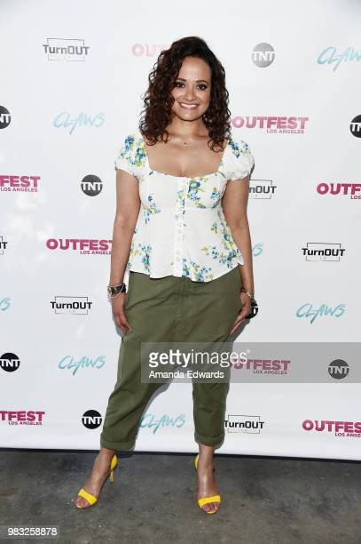 Actor Evan Daigle arrives at a special screening of TNT's 'CLAWS' with TurnOUT LA and OUTFEST at the Los Angeles LGBT Center on June 24 2018 in Los...