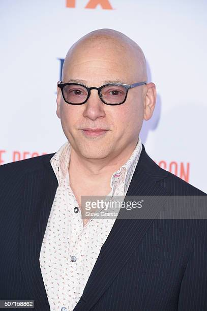 Actor Evan Handler attends the premiere of 'FX's 'American Crime Story The People V OJ Simpson' at Westwood Village Theatre on January 27 2016 in...
