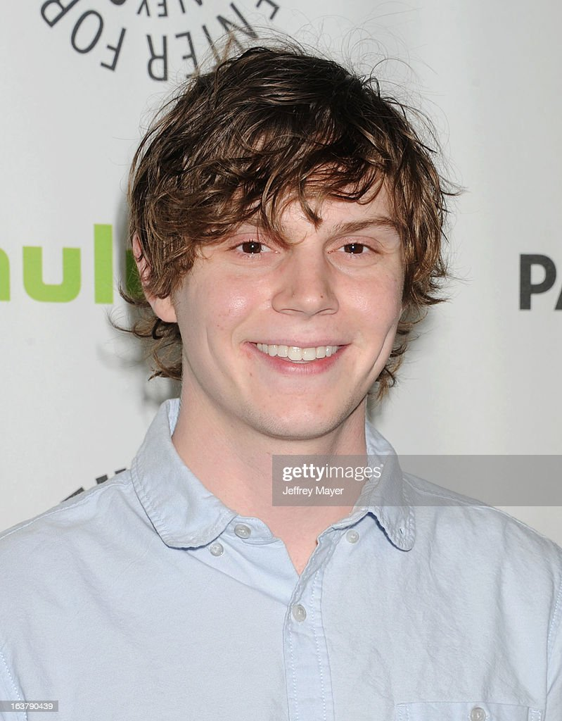 Actor Evan Peters arrives at the 30th Annual PaleyFest: The William S. Paley Television Festival - Closing Night Presentation honoring 'American Horror Story' at Saban Theatre on March 15, 2013 in Beverly Hills, California.