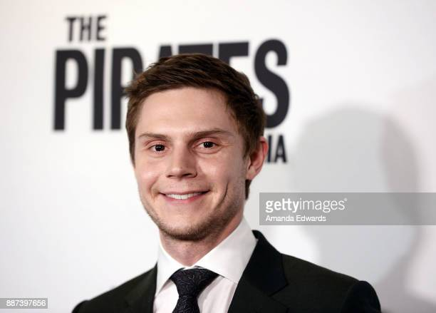Actor Evan Peters arrives at the premiere of Front Row Filmed Entertainment's 'The Pirates Of Somalia' at the TCL Chinese 6 Theatres on December 6...