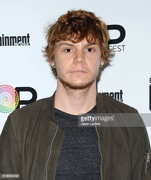 Actor Evan Peters attends Entertainment Weekly's Popfest at The Reef on October 30 2016 in Los Angeles California
