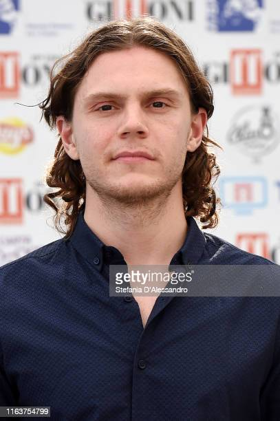 Actor Evan Peters attends Giffoni Film Festival 2019 on July 23 2019 in Giffoni Valle Piana Italy