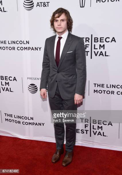 Actor Evan Peters attends the 'Dabka' Premiere during the 2017 Tribeca Film Festival at SVA Theater on April 27 2017 in New York City